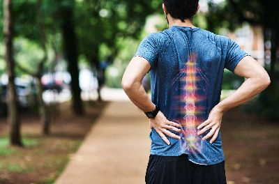 Man with herniated discs in Leesburg